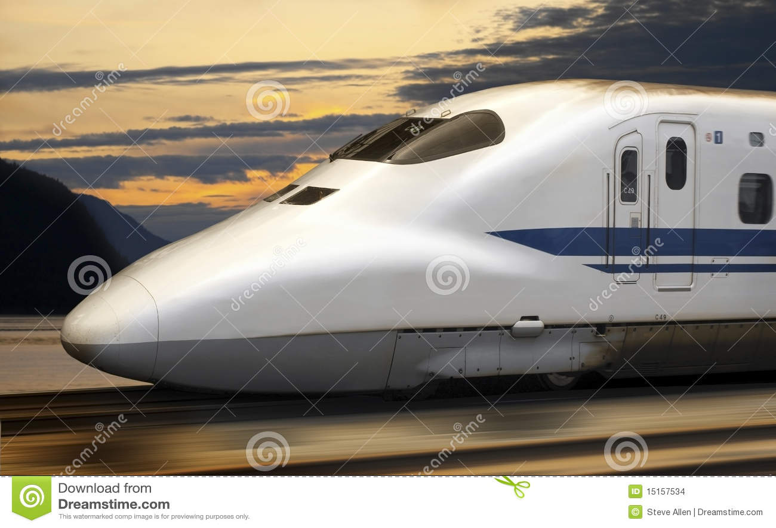 Train de remboursement in fine - Shinkansen - Japon
