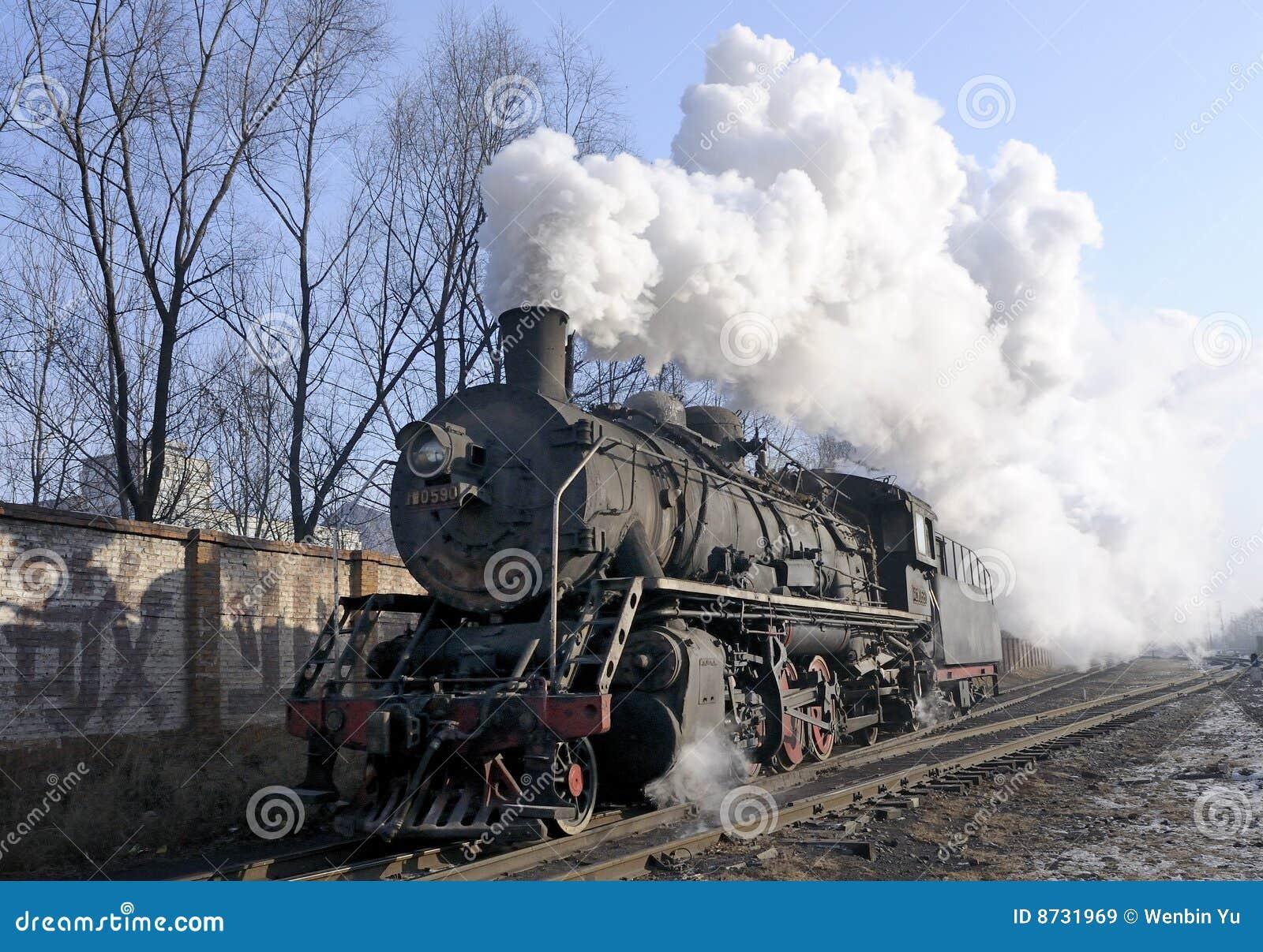 Train de vapeur