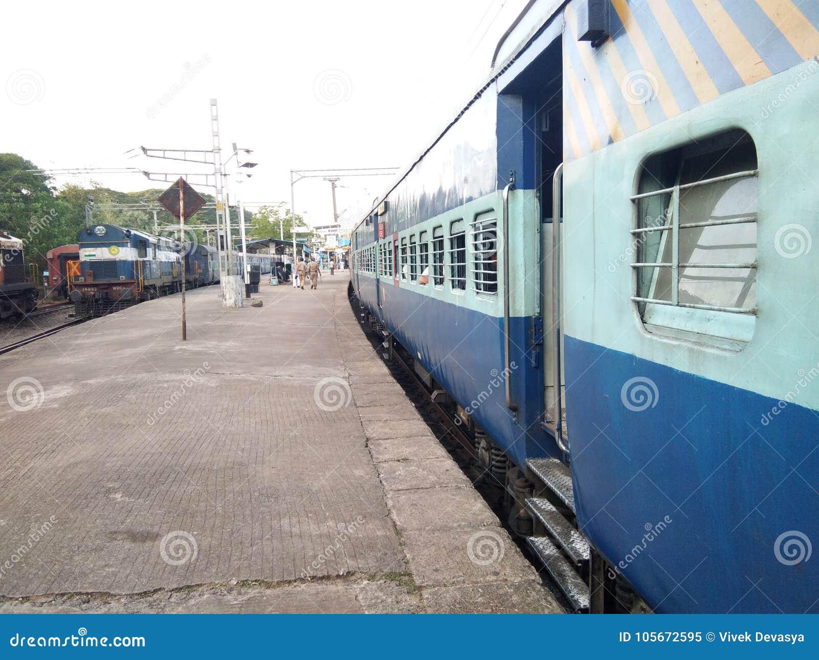Indian Railway  editorial image  Image of indianrailway