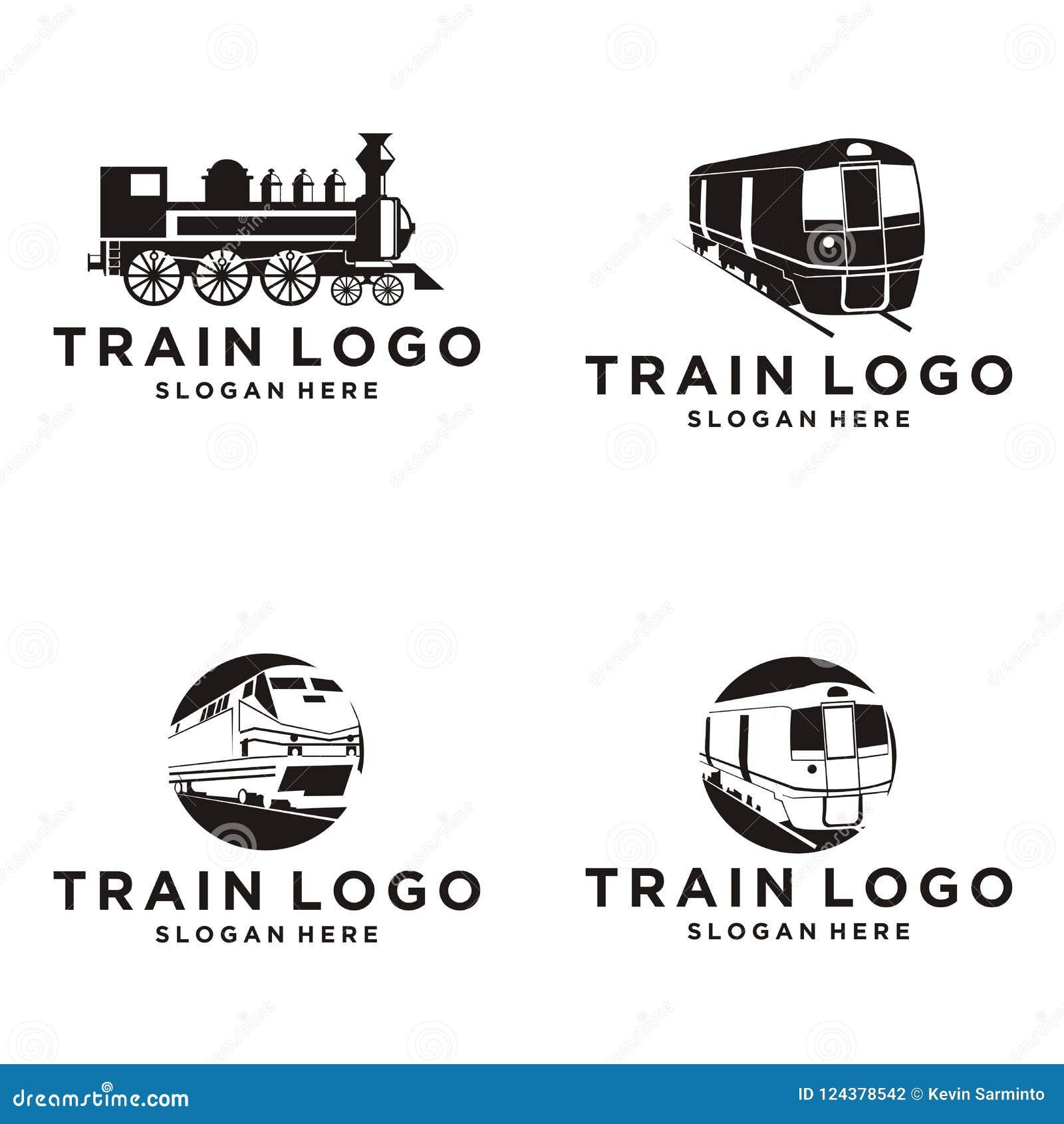 Train Logo Design Stock Vector Illustration Of Cloud 124378542