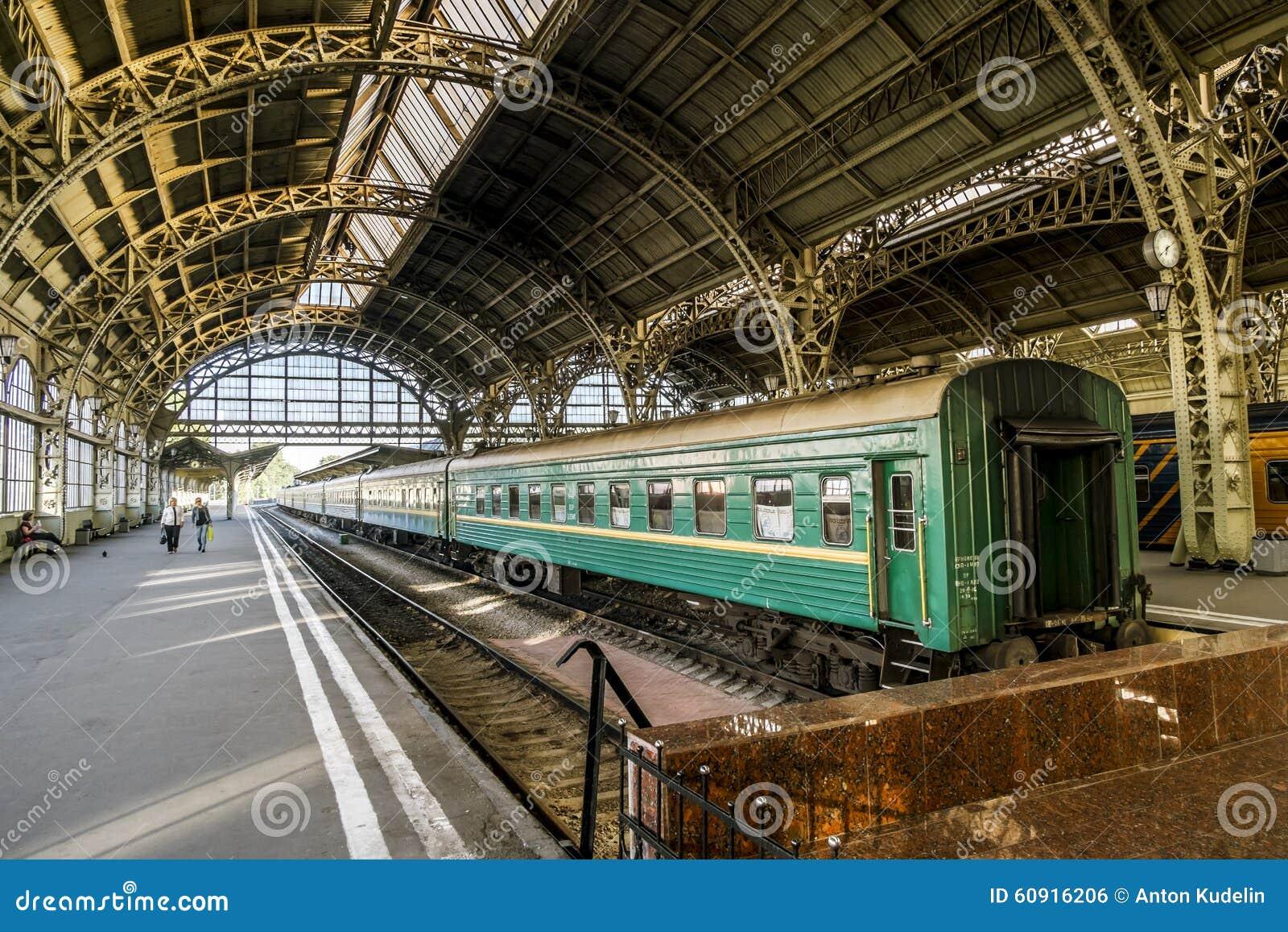 Such a unique and unique Vitebsk railway station