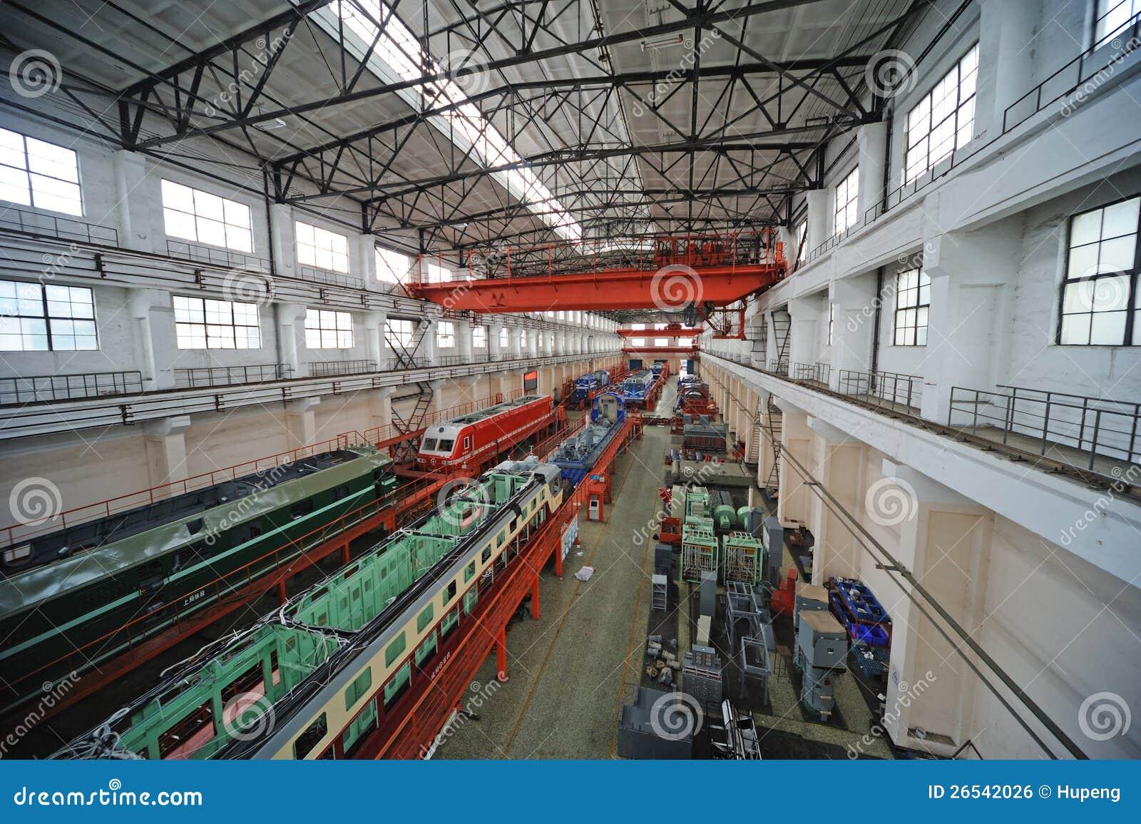 Train Repair Factory Editorial Photo Image 26542026