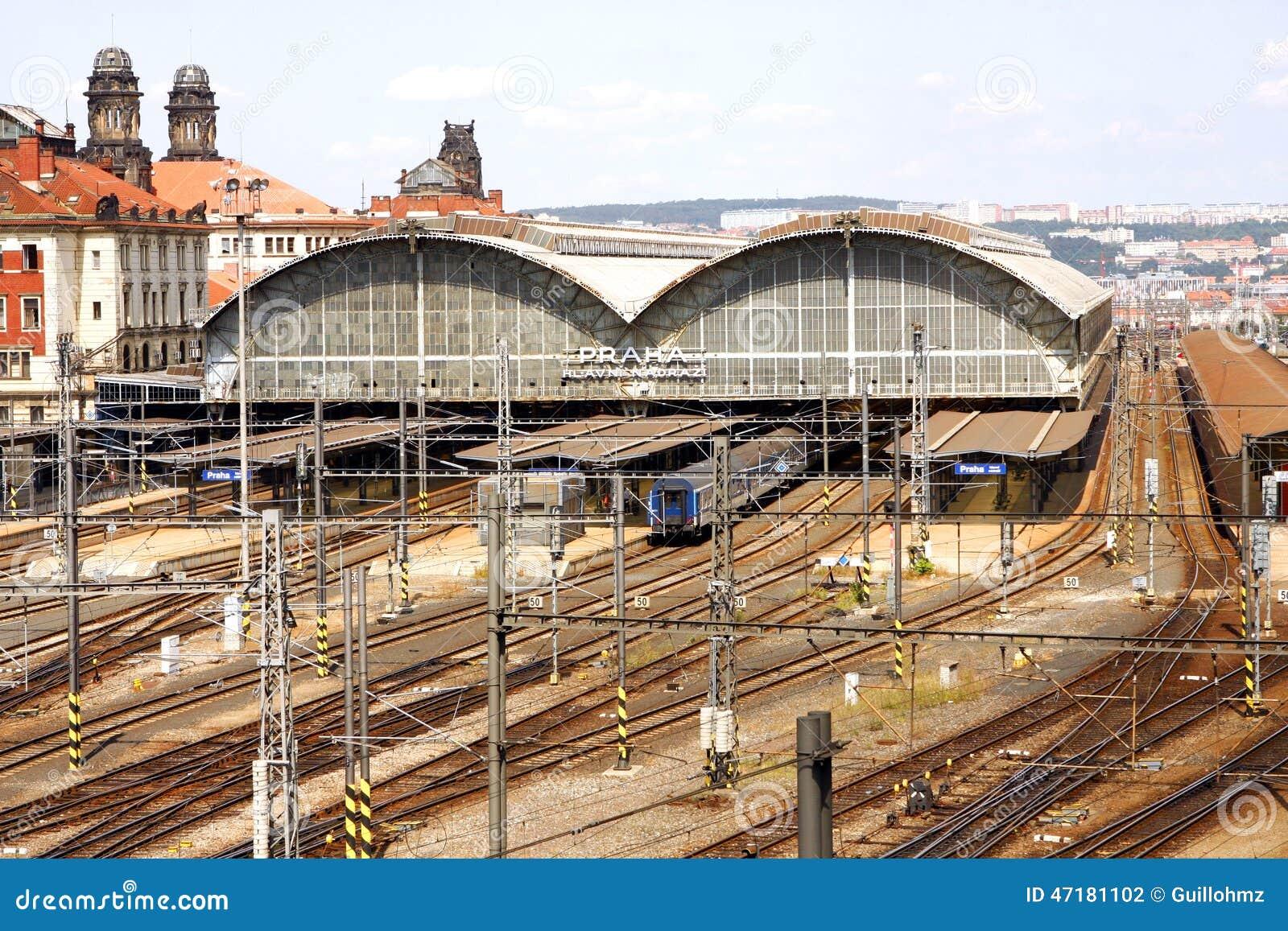 Train station in prague for Central prague