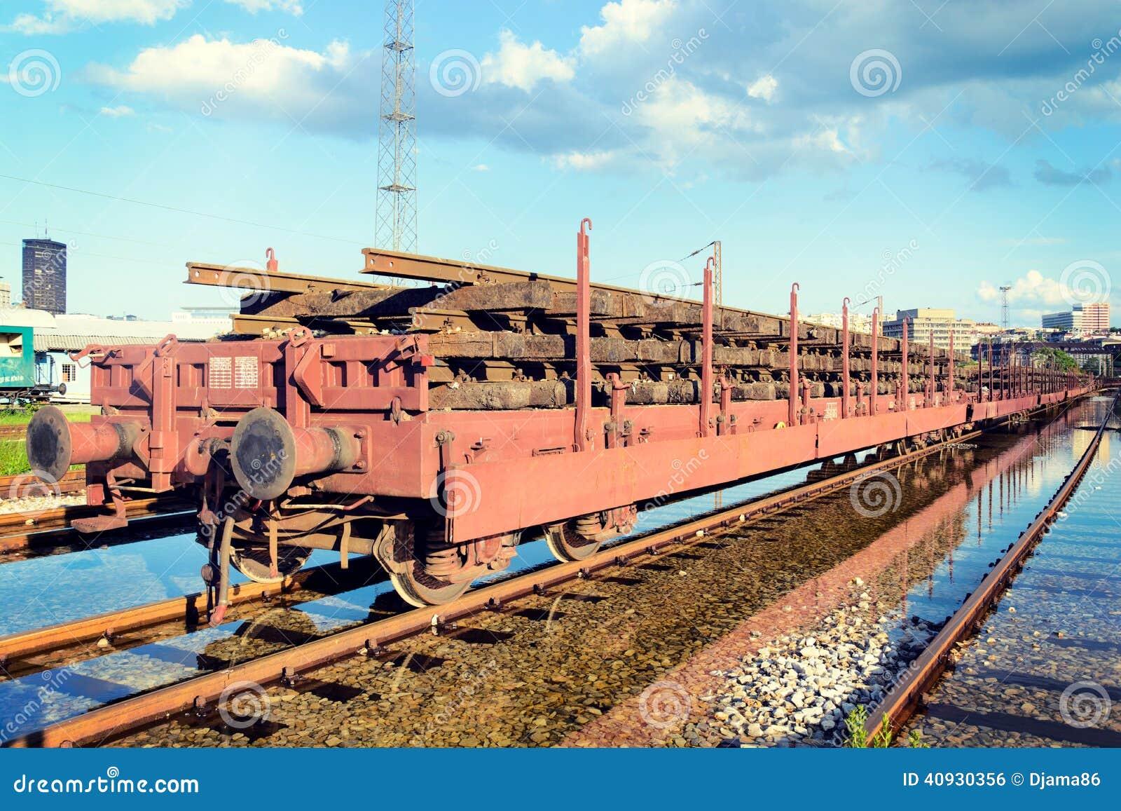 Train sur la voie