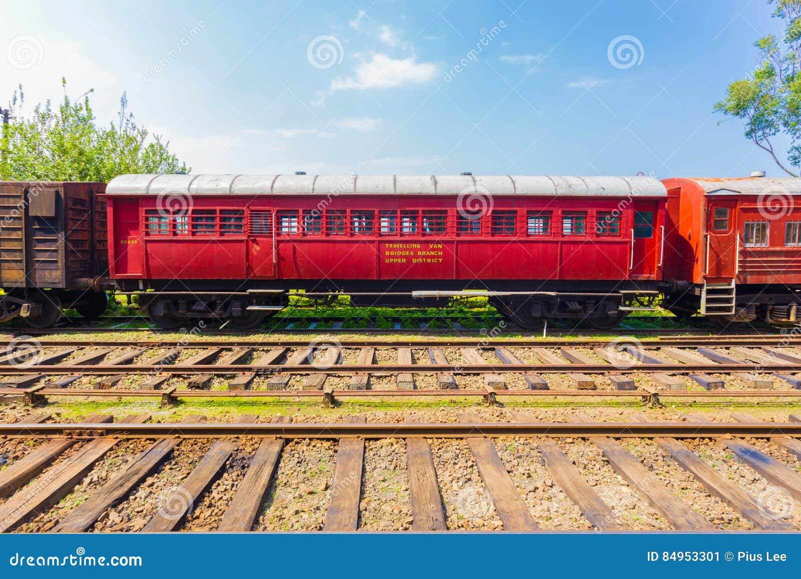 Train Track Passenger Carriage Sri Lanka Railway H