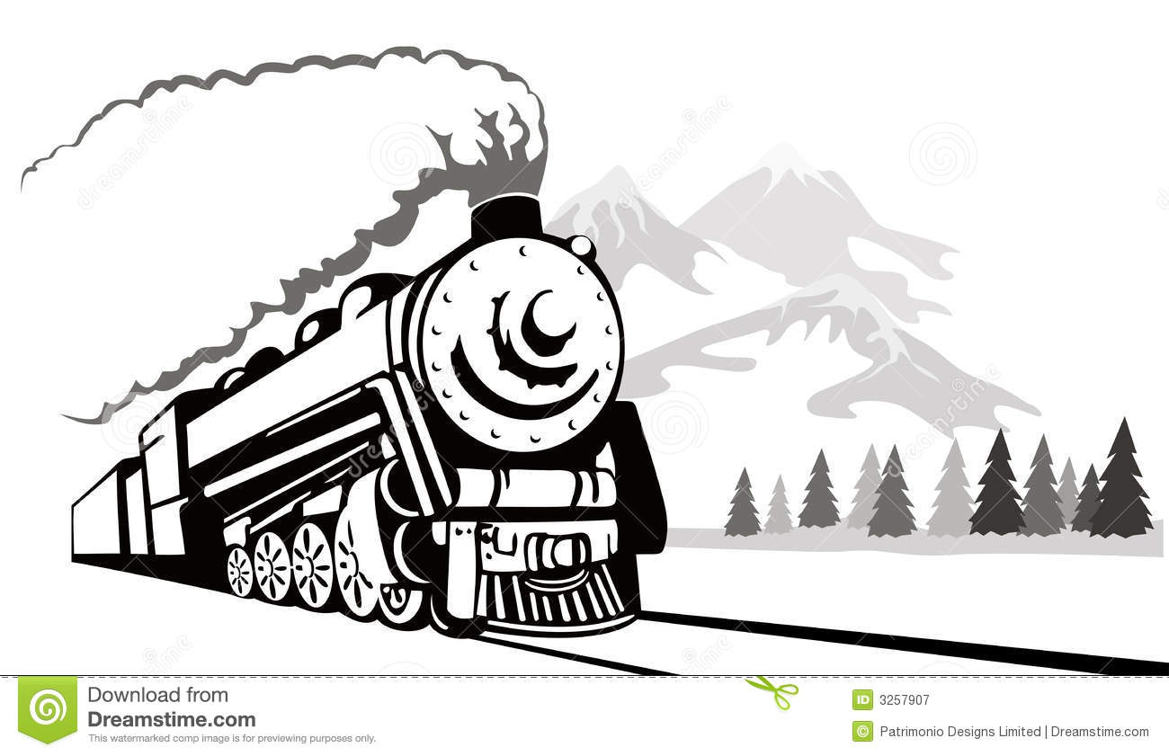 train vintage travelling stock vector illustration of freight 3257907 rh dreamstime com train vector graphic train vector icon