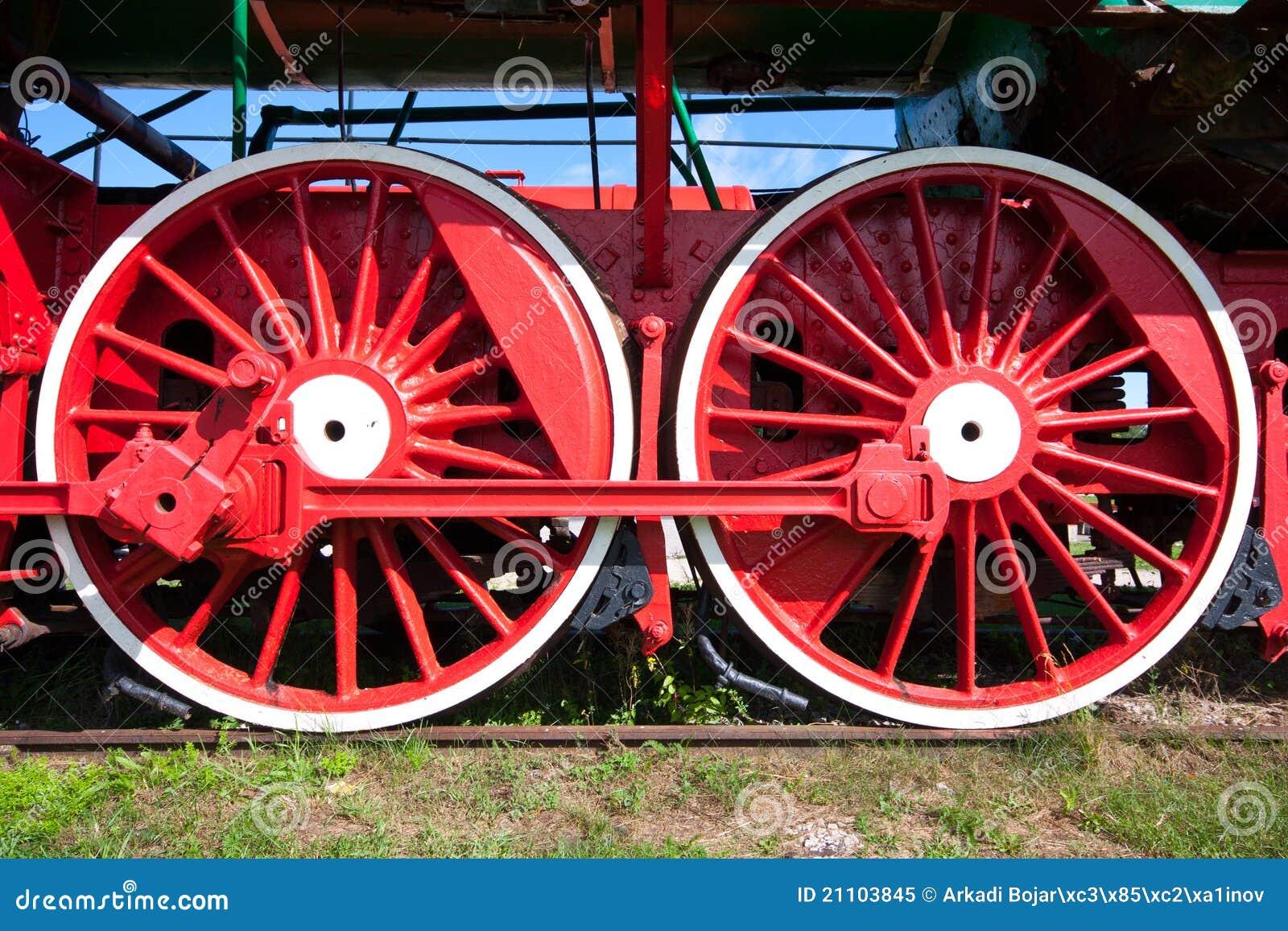 Train Wheels Royalty Free Stock Photo - Image: 21103845