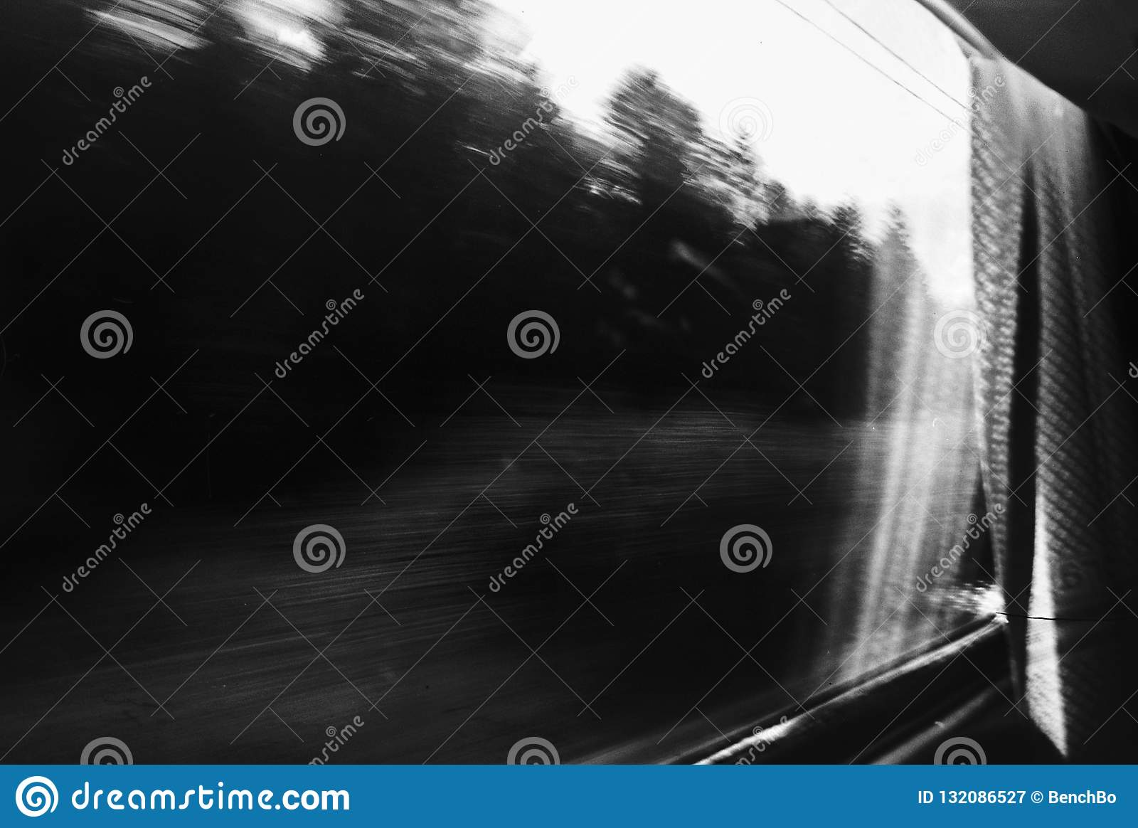 In the train stock image  Image of train, rush, land - 132086527