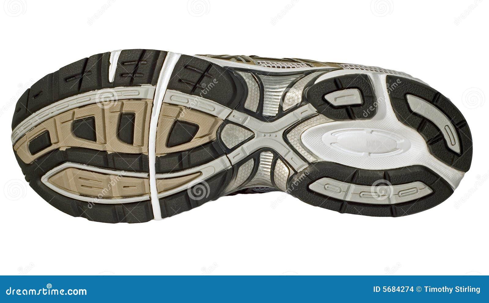 Tennis Shoe Tread