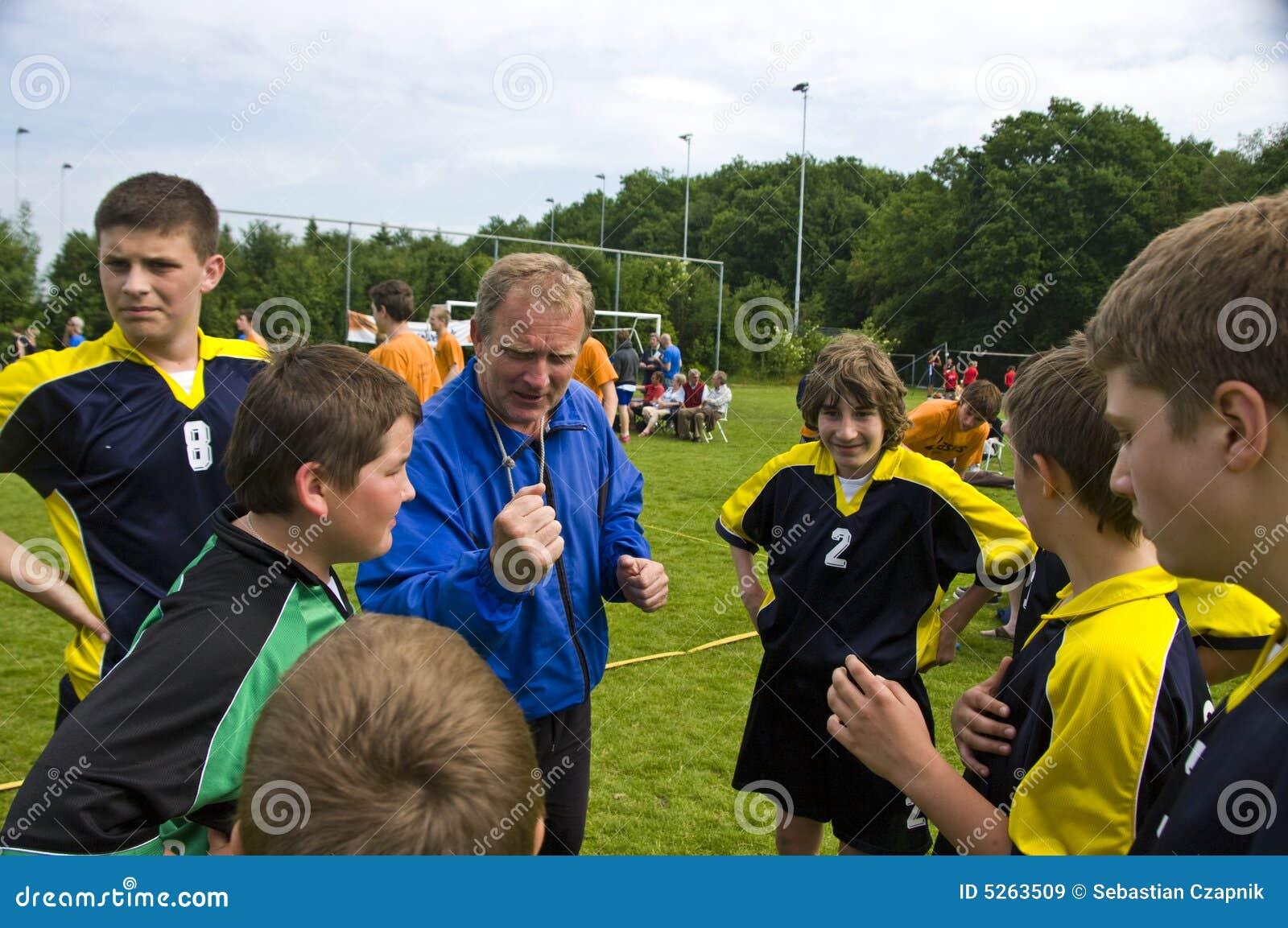 Trainer und Team