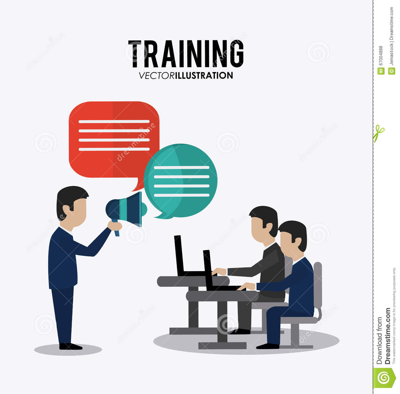 Training Icon Design Stock Vector - Image: 67004888