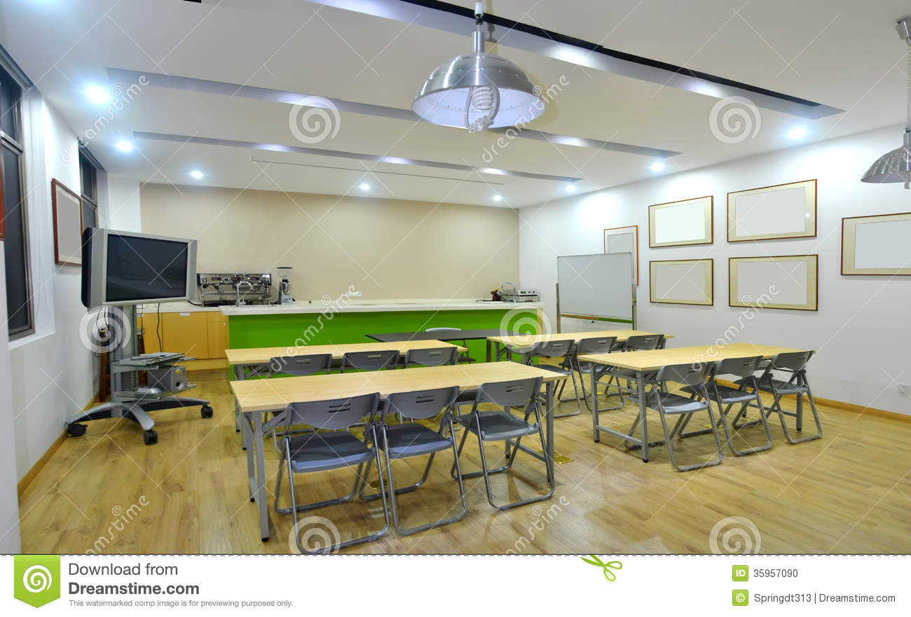 Training room classroom stock photo image of conference for Training room design ideas