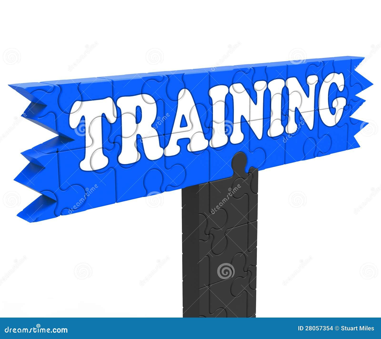 Training Shows Education Instruction Or Coaching Stock