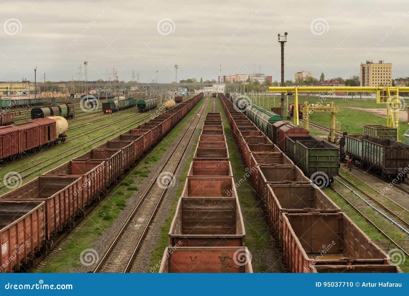 Trains de fret