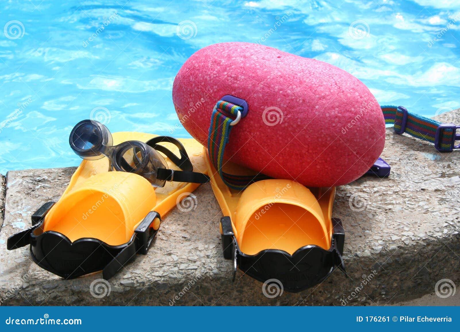 Trains de natation
