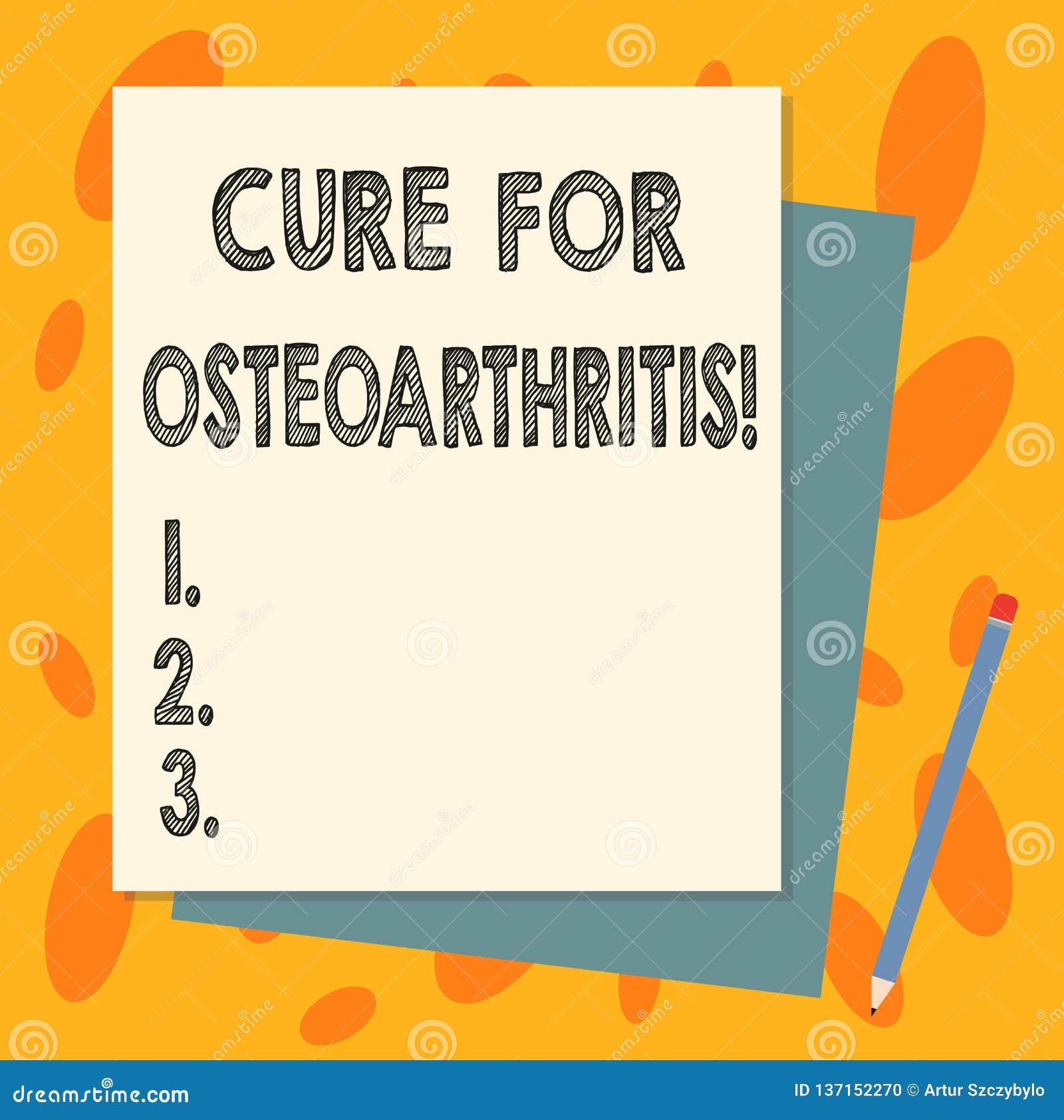 Traitement des textes d écriture pour l ostéoarthrite Traitement de signification de concept pour la douleur et la rigidité de la