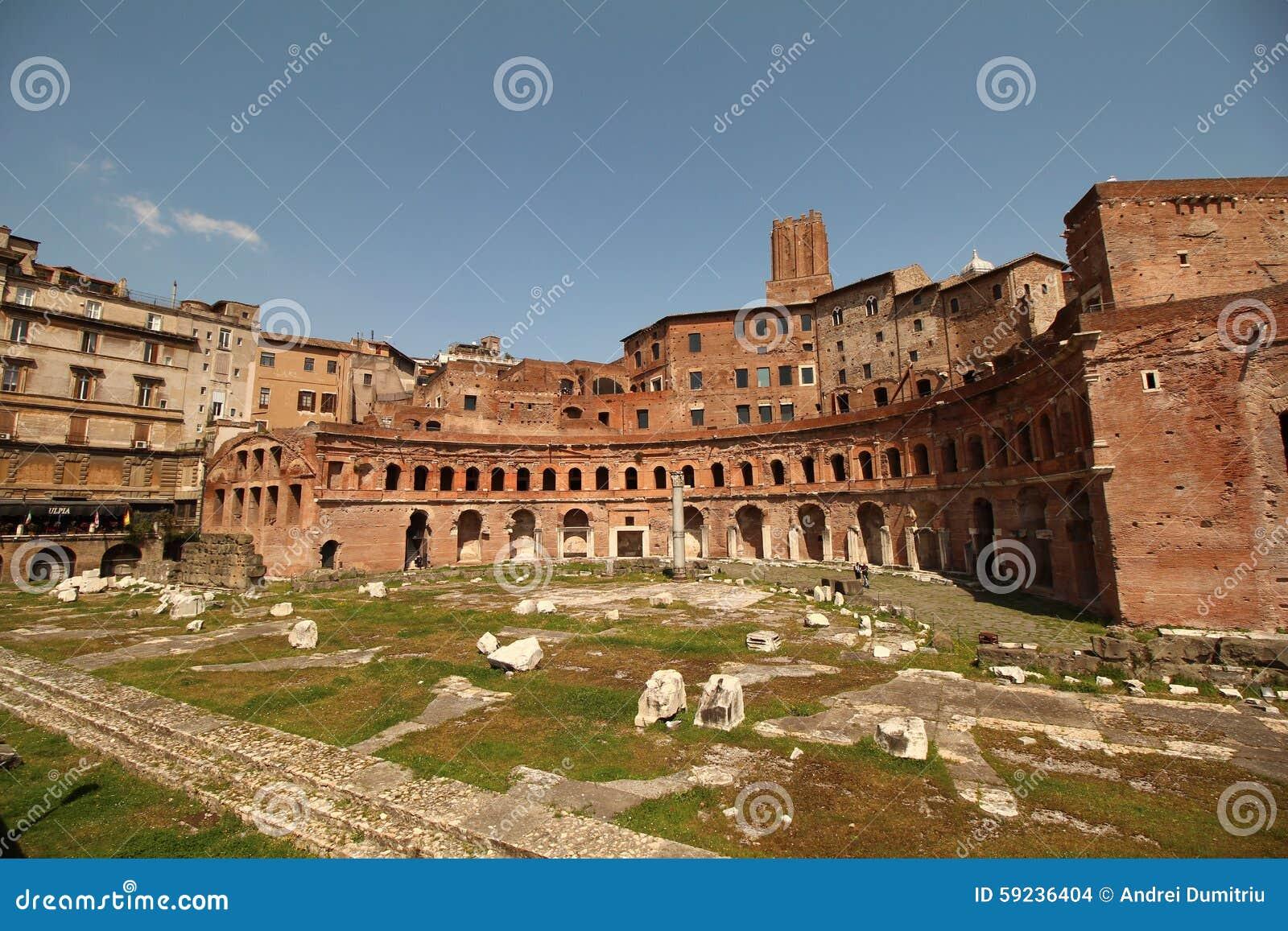 Download Trajan antiguo foto de archivo. Imagen de vía, anaranjado - 59236404