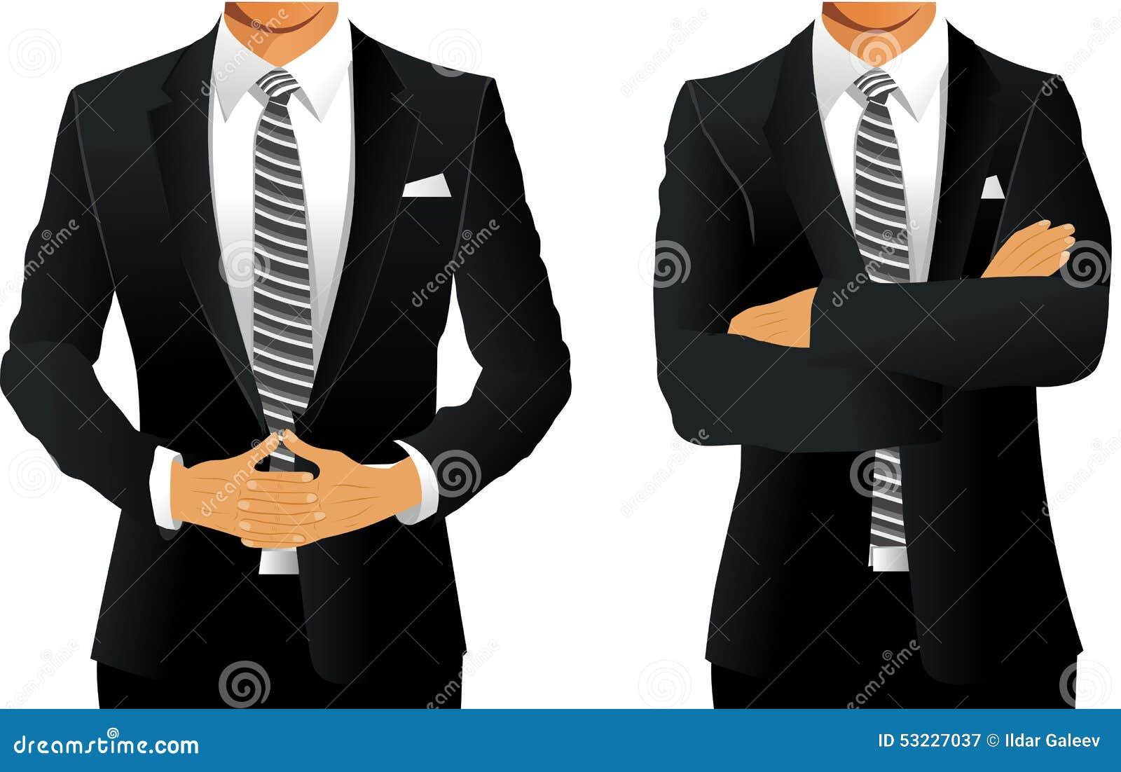 Traje de negocios para los hombres