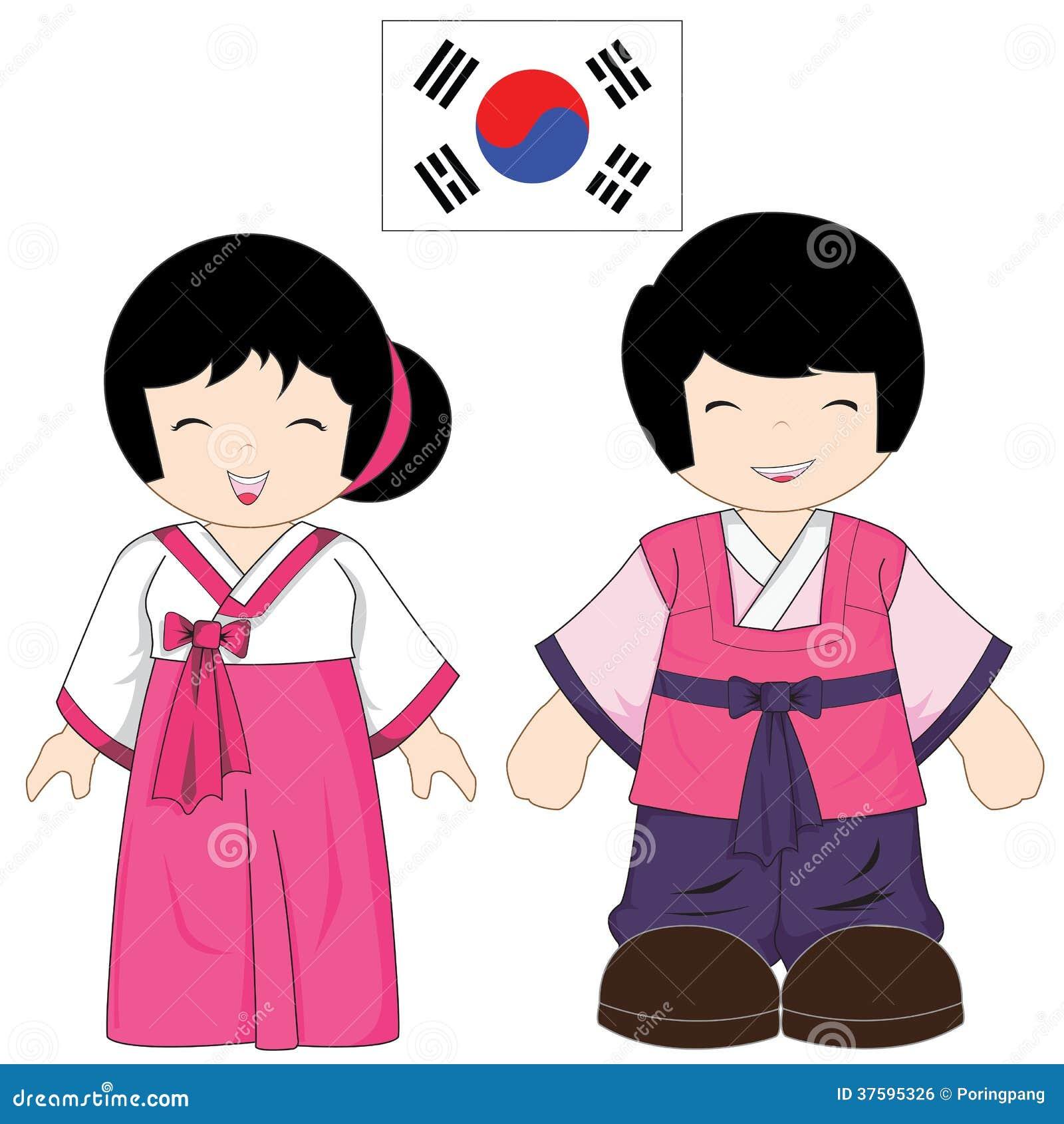 traje tradicional de la corea del sur imagen de archivo korean flag vector free korean flag vector free download