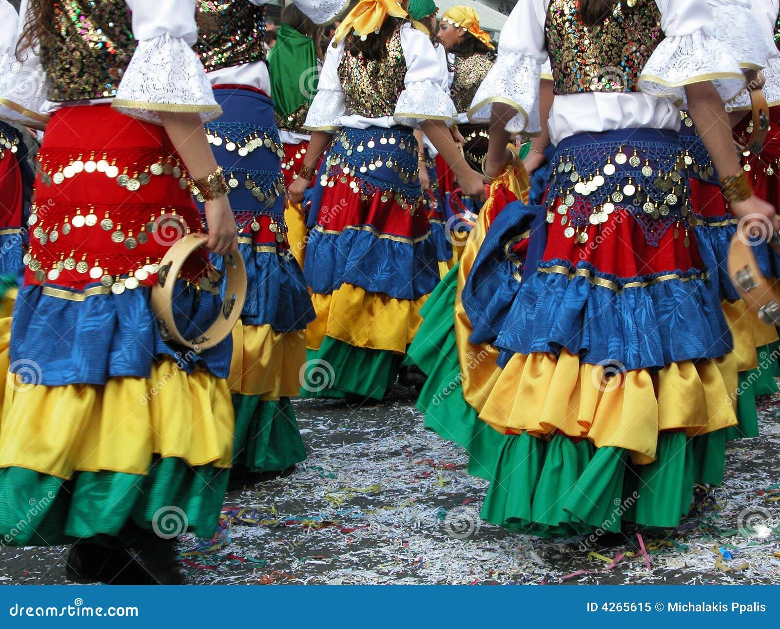 Trajes del carnaval