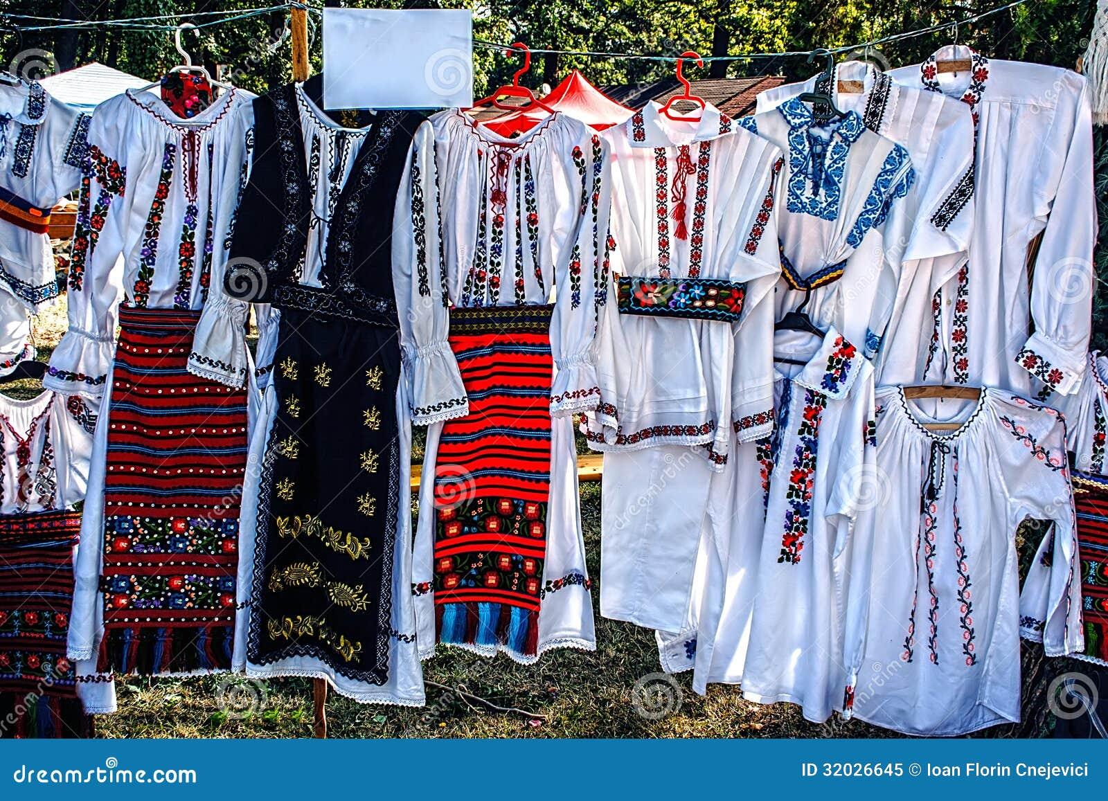 Trajes tradicionais romenos