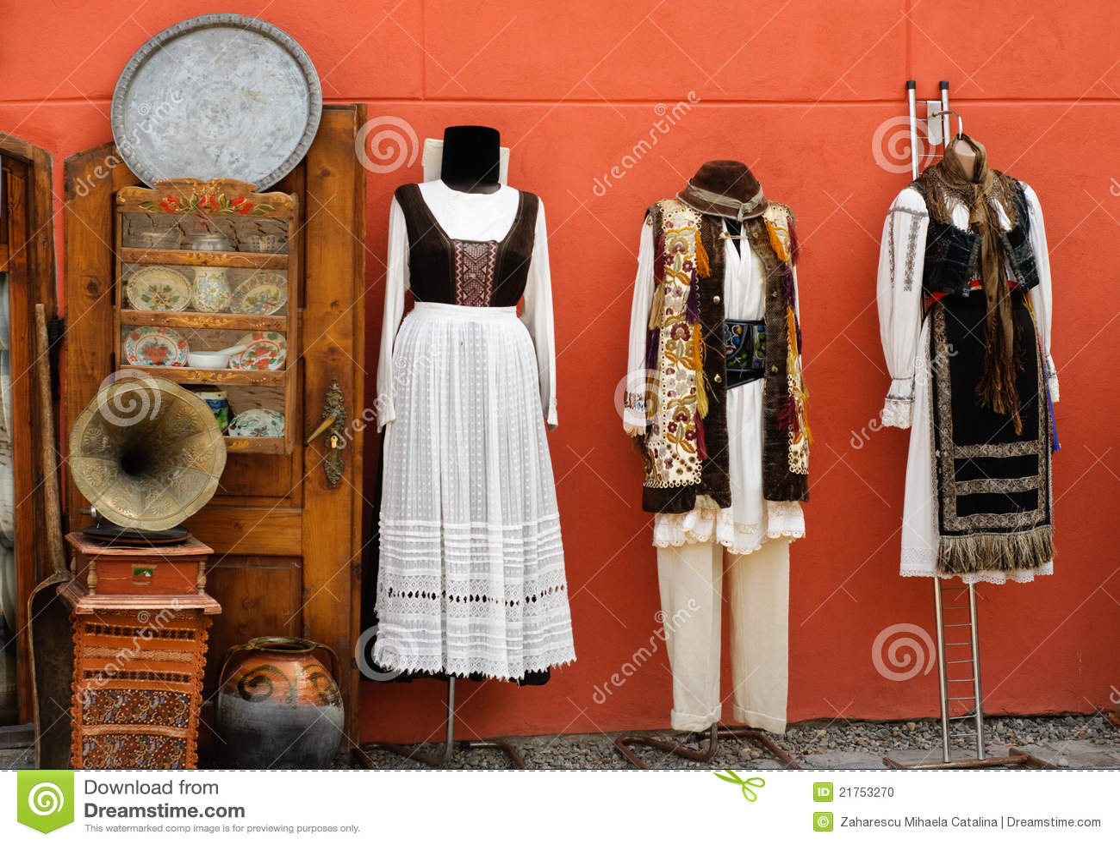 Trajes tradicionales de Transilvania