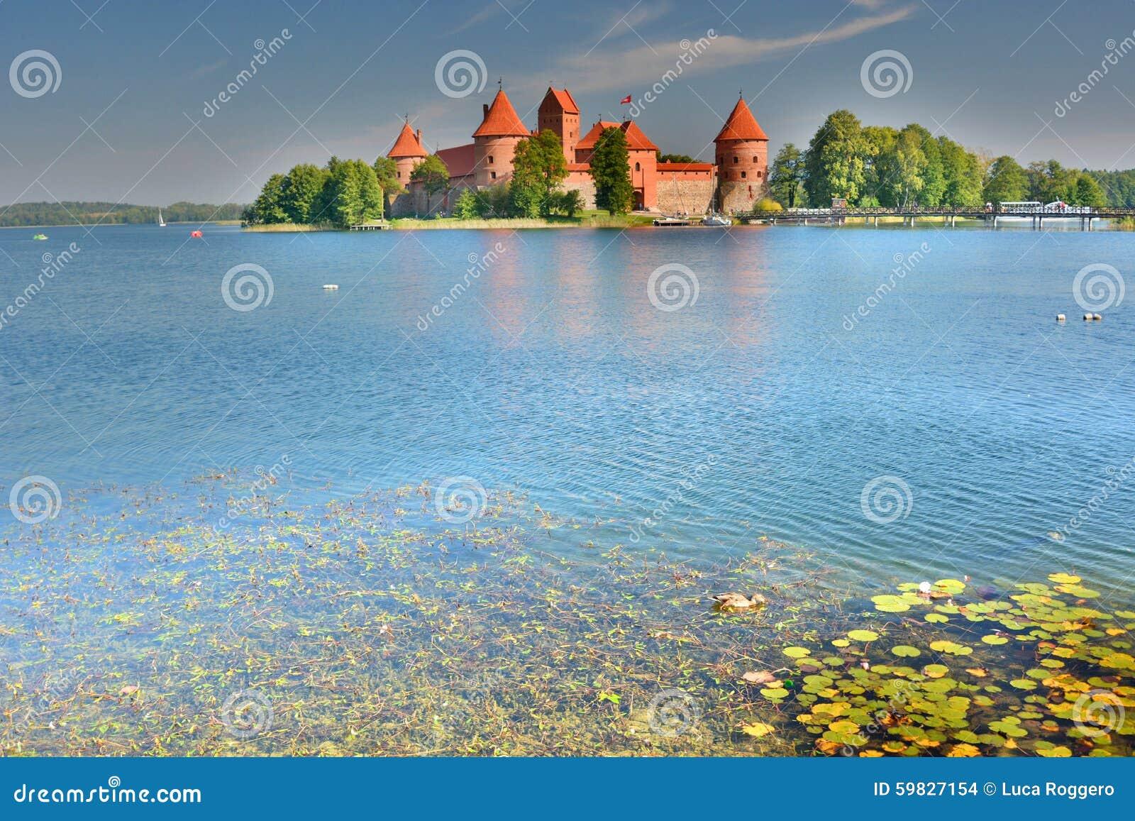 Trakai Insel-Schloss Trakai litauen