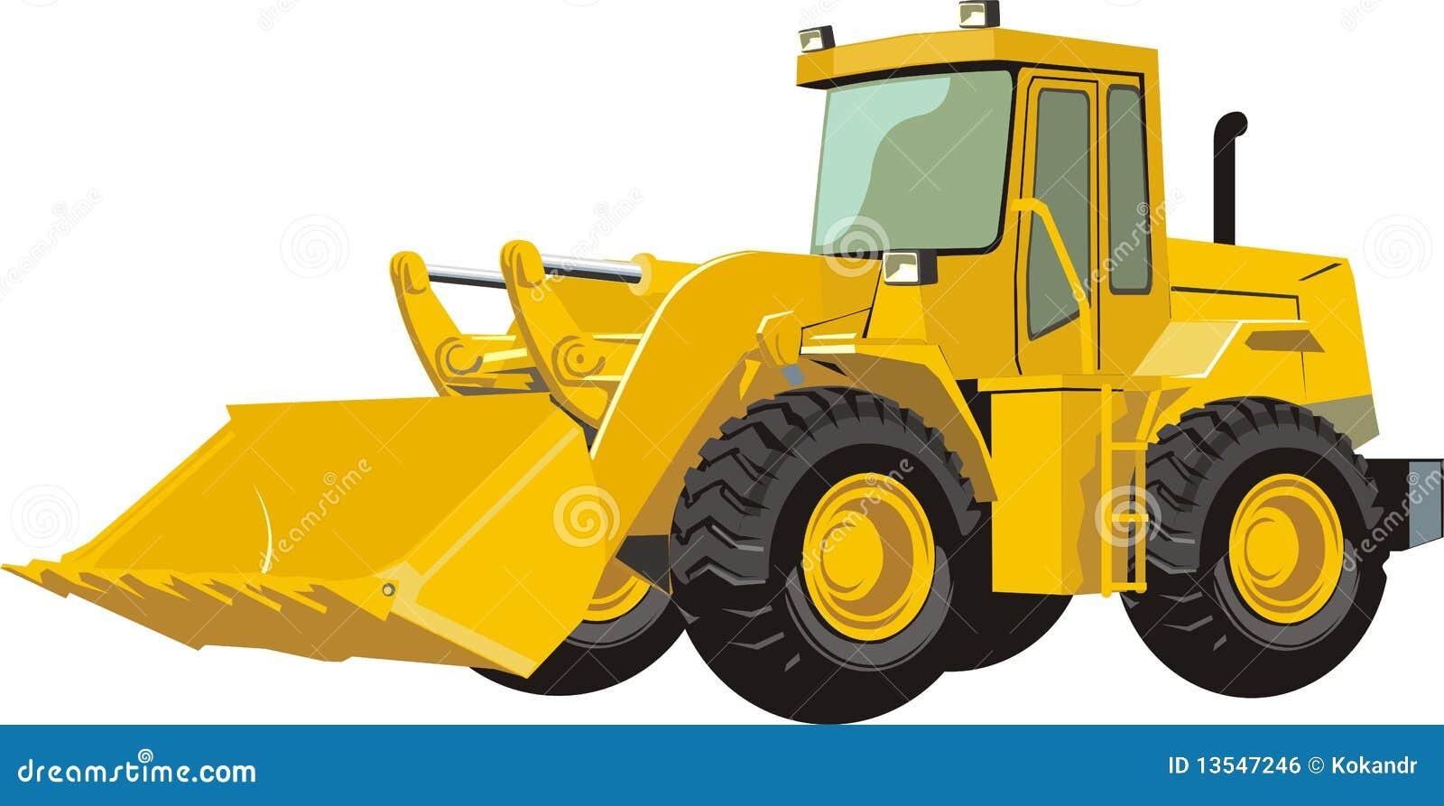 Yellow Tractor Clip Art : Traktor lizenzfreies stockbild bild