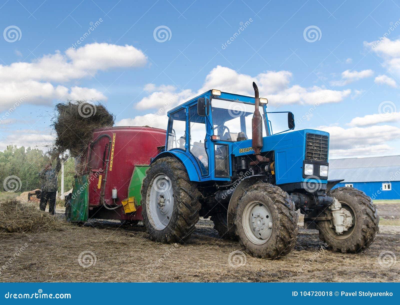 Traktor Weißrussland