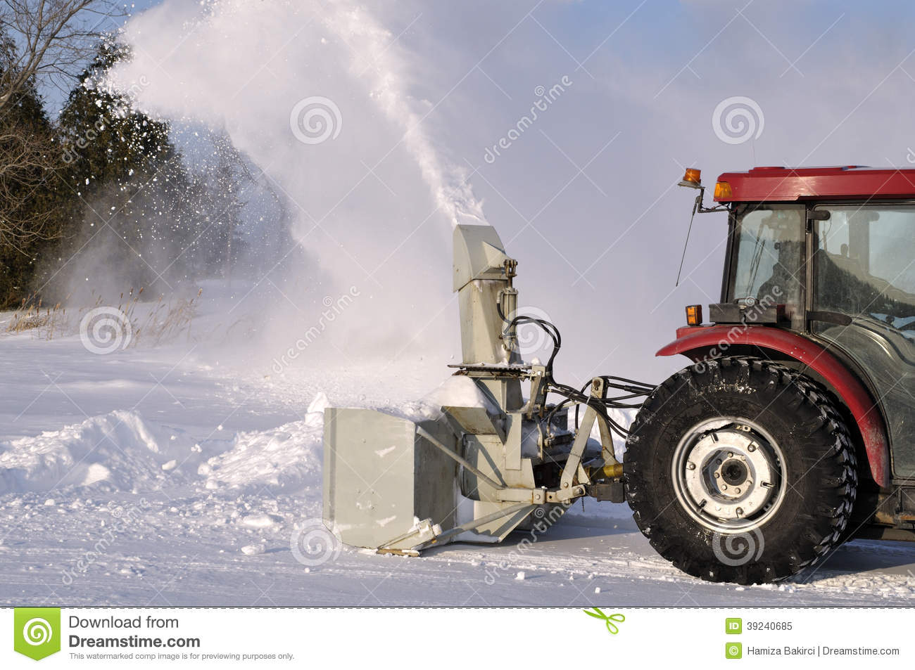 Traktorsnowblower