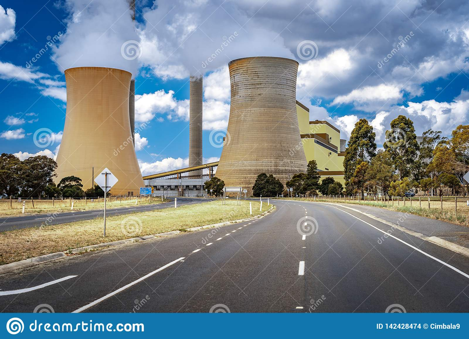 Tralalgon, Victoria, Australia - Loy Yang Coal-fired Power