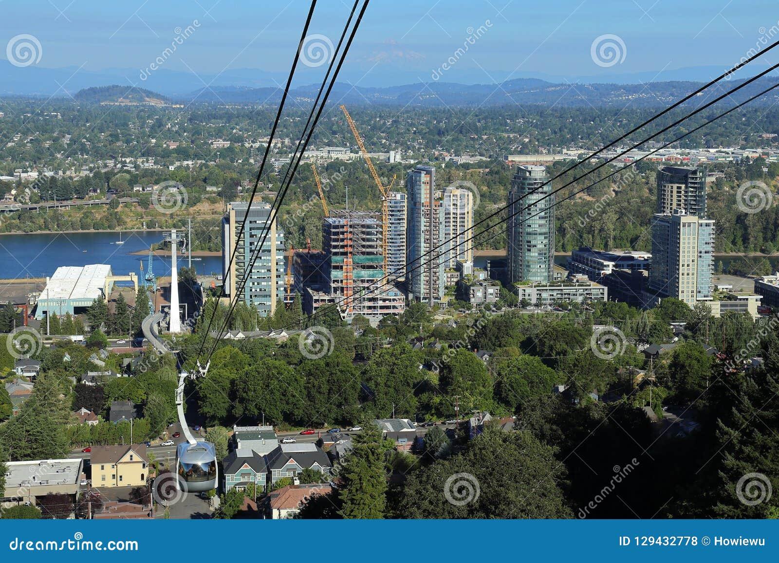 Tram d antenne de Portland, Orégon