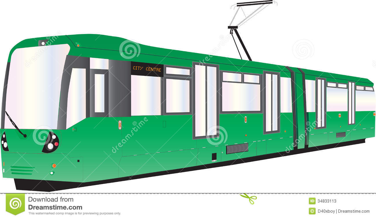 Tram Stock Photos Image 34833113