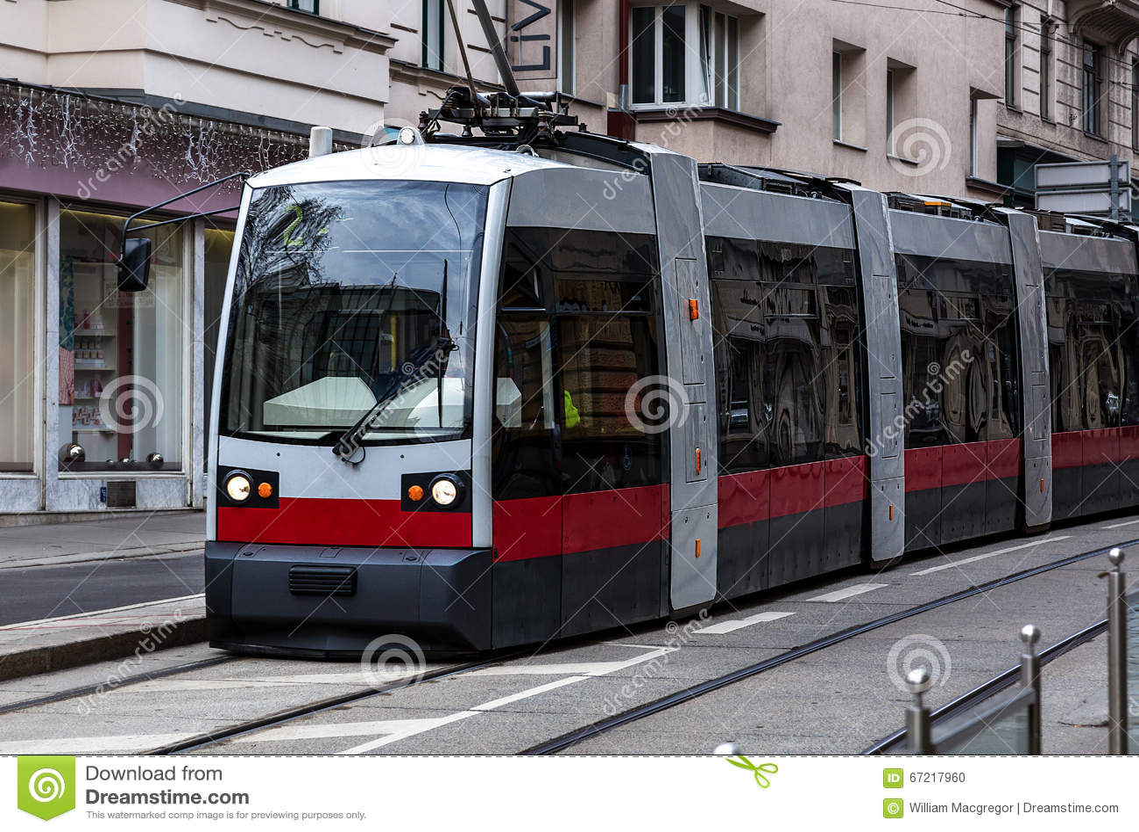 Tram moderne de Vienne