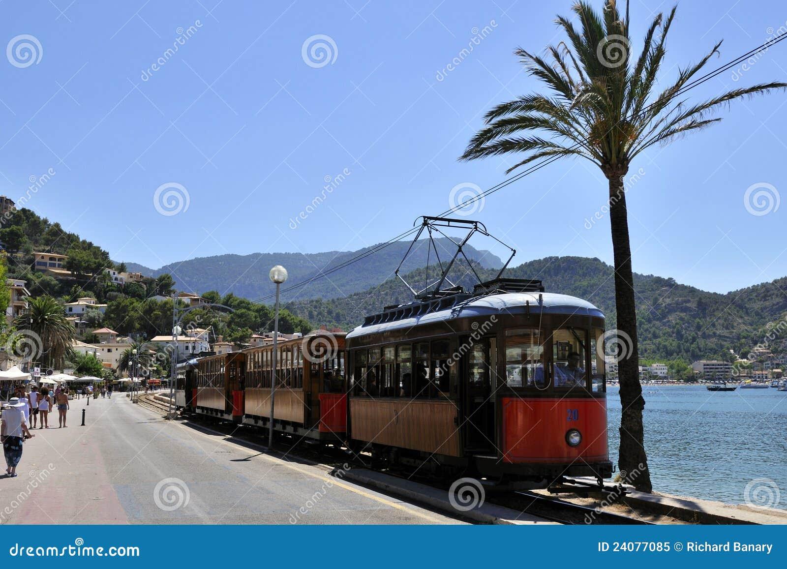 Tram in Port de Soller