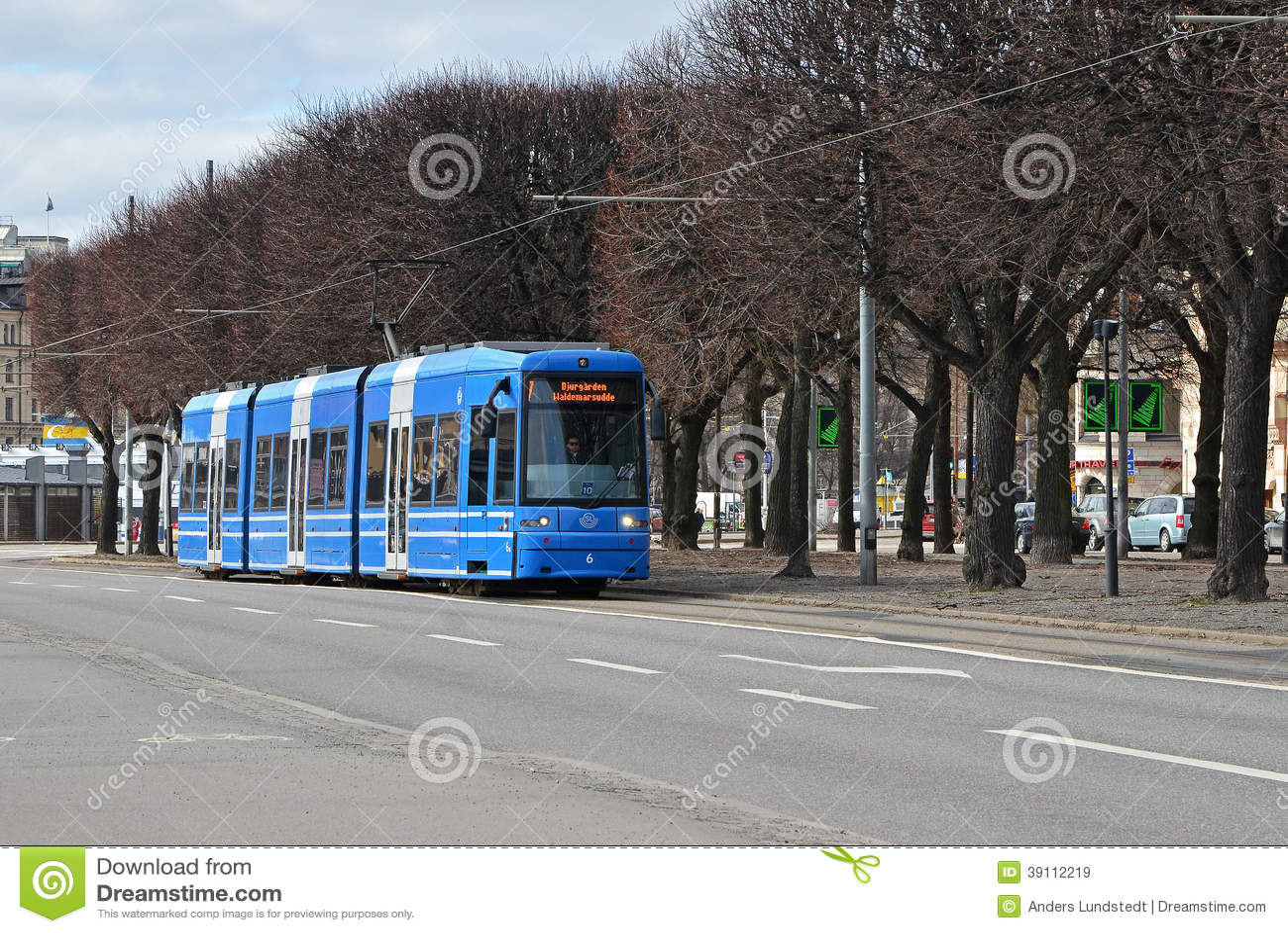 Tram 2 van Stockholm