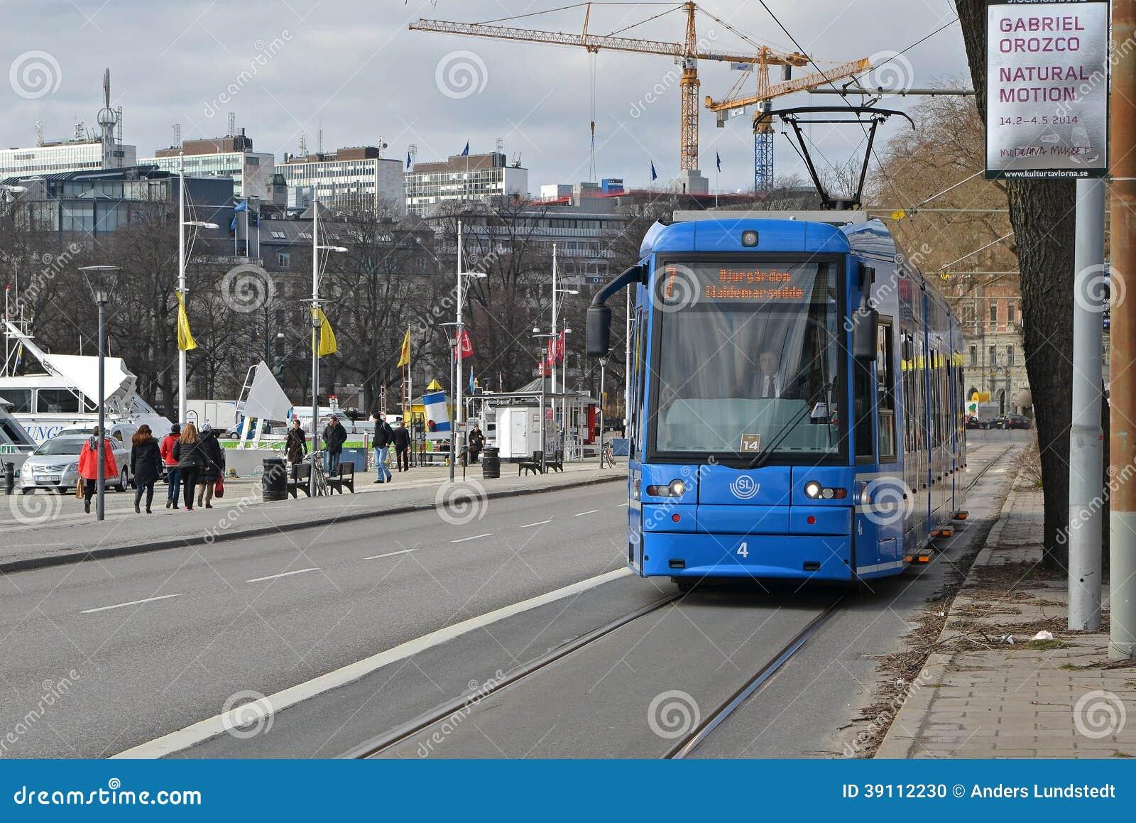 Tram 3 van Stockholm