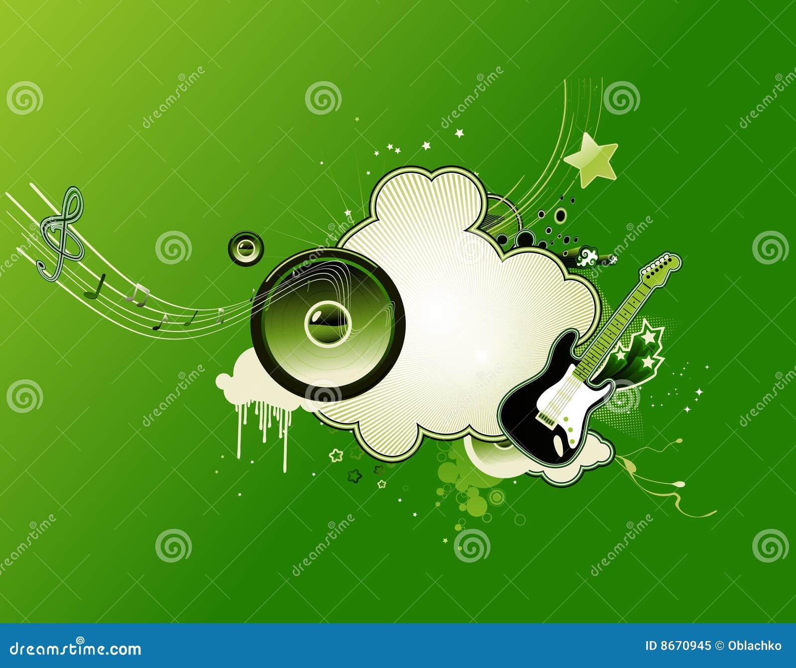 Trame abstraite de musique