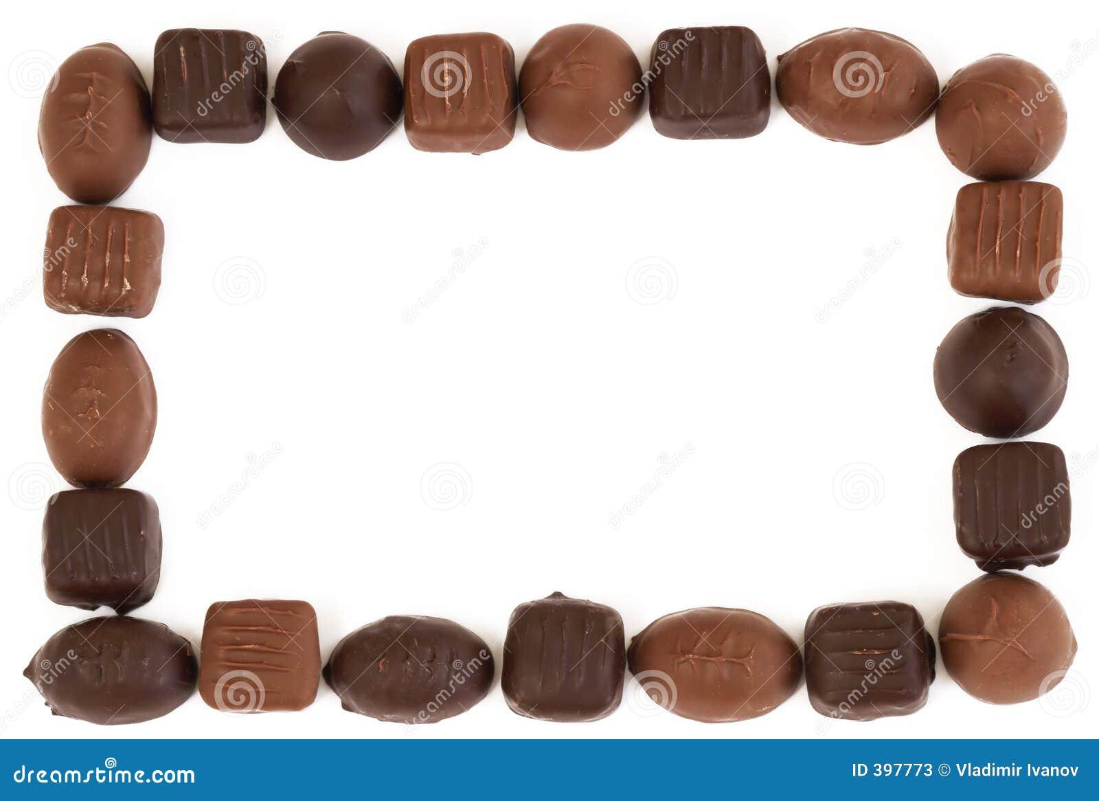 Trame de chocolat