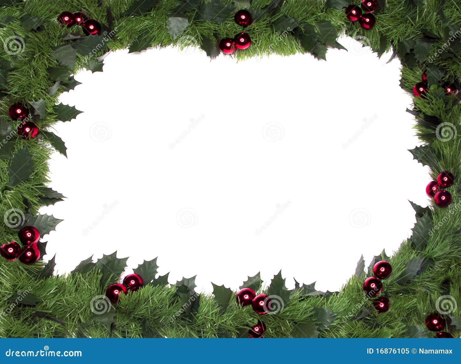Trame de Noël, cadre