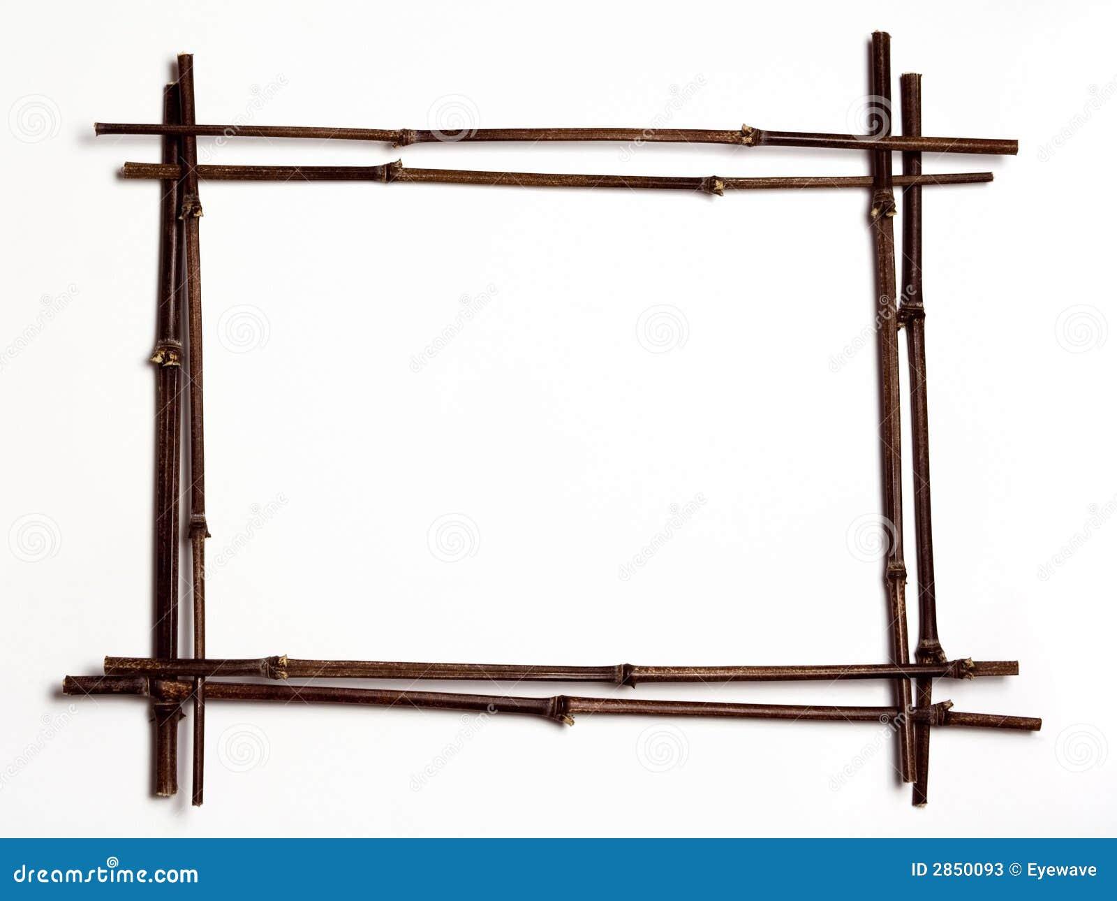 Trame w/copyspac de bambou noir