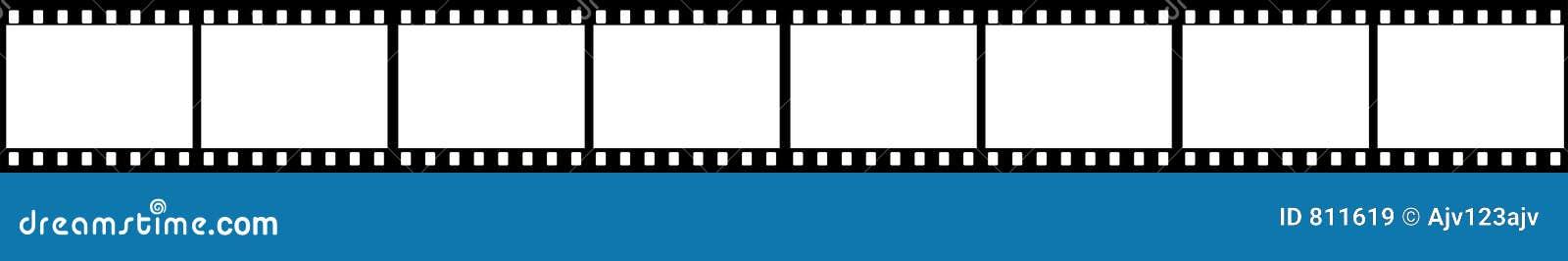 Trames de trame de bande de film