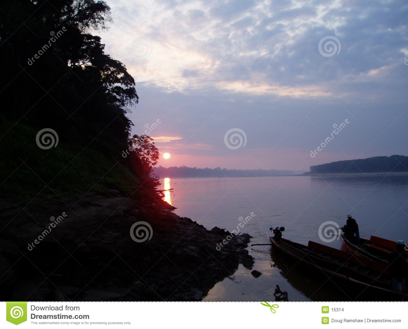 Tramonto del Amazon