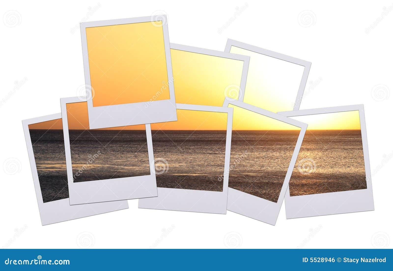 Tramonto del Polaroid