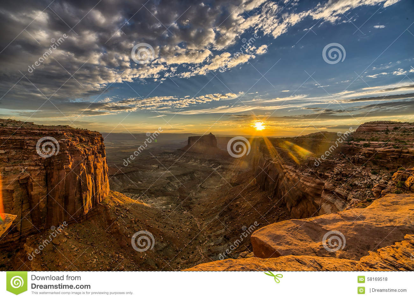 Tramonto di Canyonlands