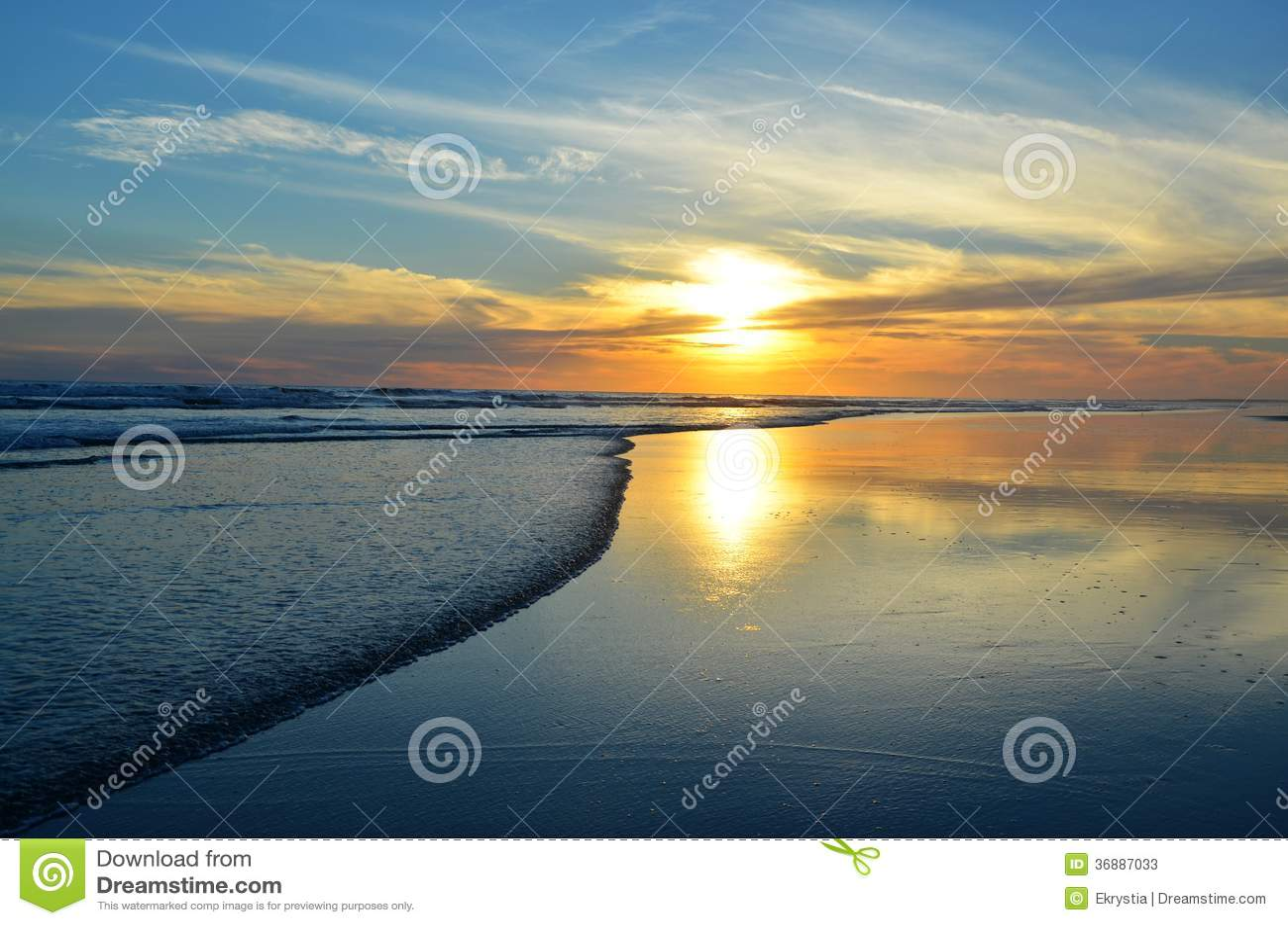 Download Tramonto, EL Espino, El Salvador Di Playa Immagine Stock - Immagine di paesaggio, bello: 36887033