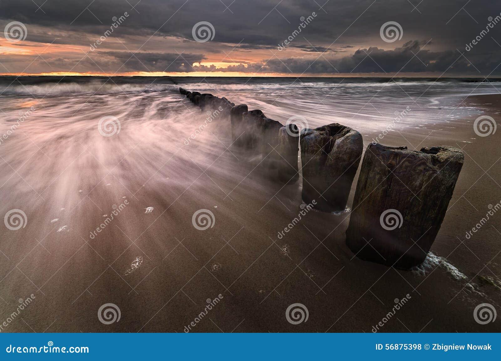 Tramonto sul Mar Baltico
