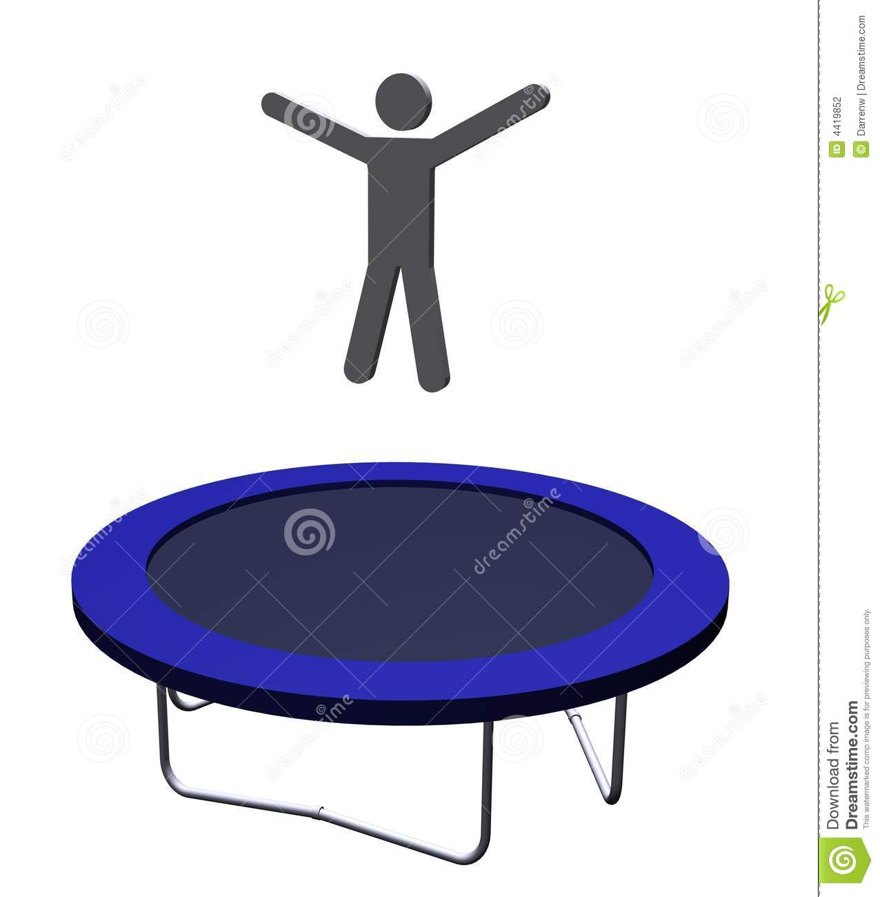 Trampolining Stock Photography - Image: 4419852