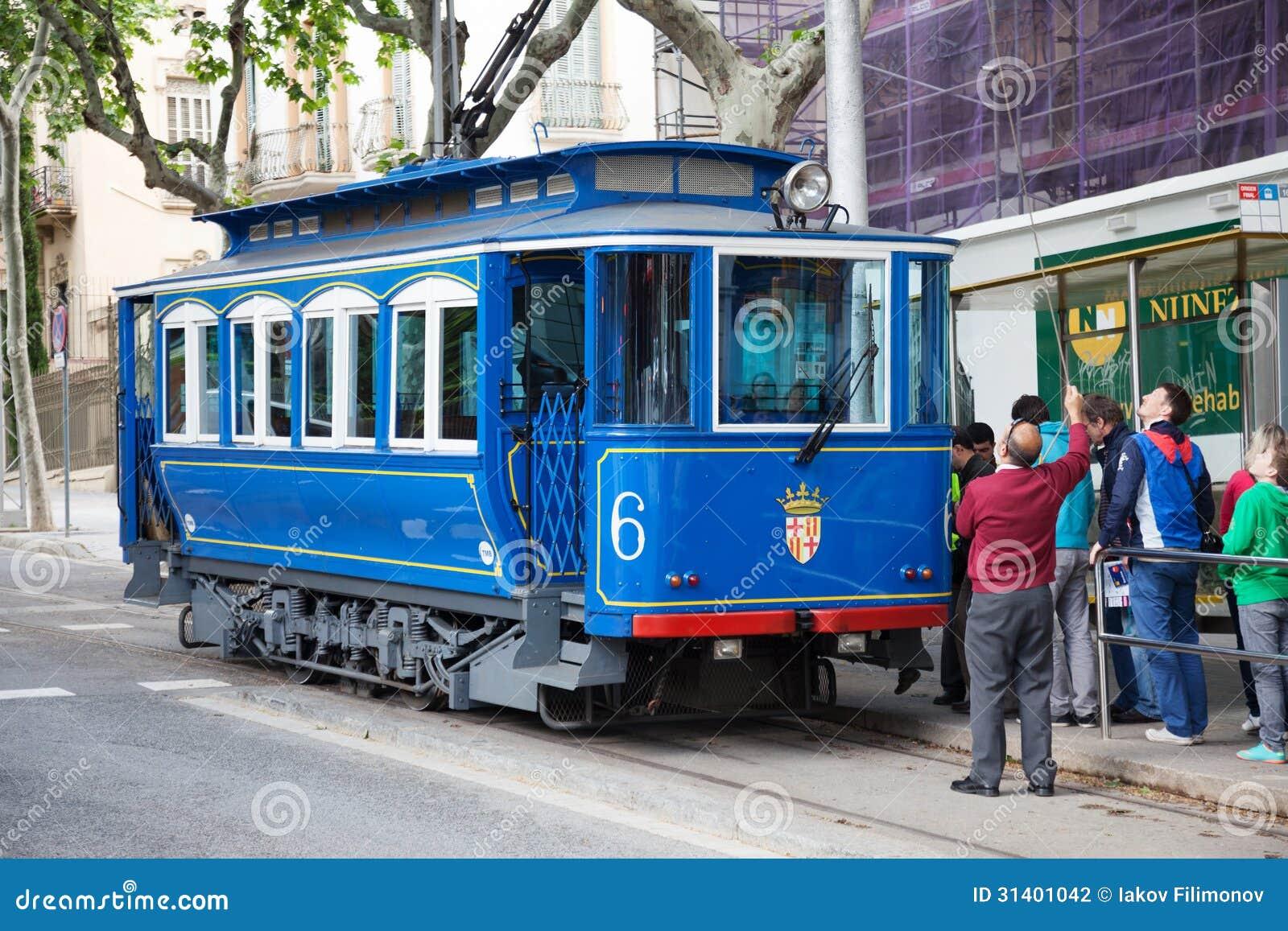 Tramvia Blau en Barcelona