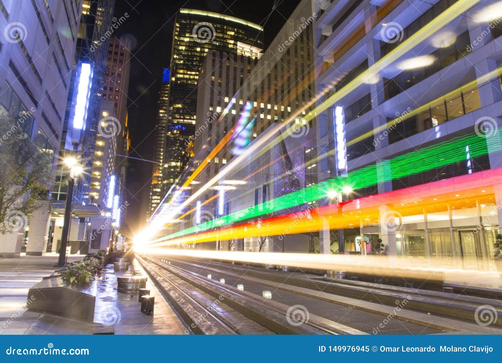 Tramwaj od tramwaju w Houston